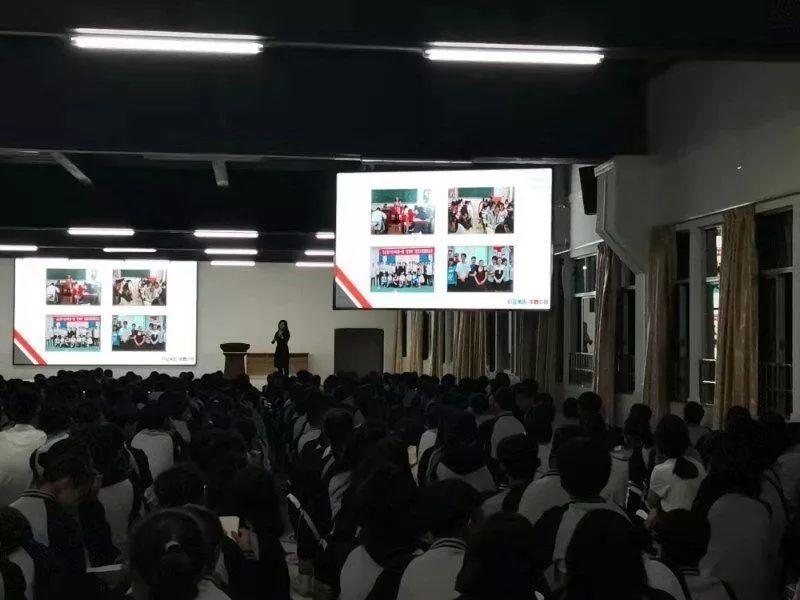 第六时限高考日语宣讲会已在多地公立高中陆续开展